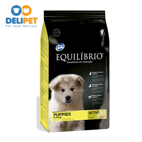 EQUILIBRIO PUPPIES ALL BREEDS 2 y 15+3 Kg