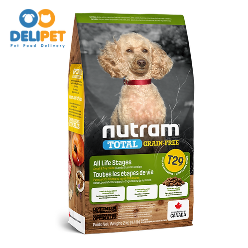 NEW T29 NUTRAM TOTAL GRAIN-FREE ALLERGY LAMB DOG 2 KG