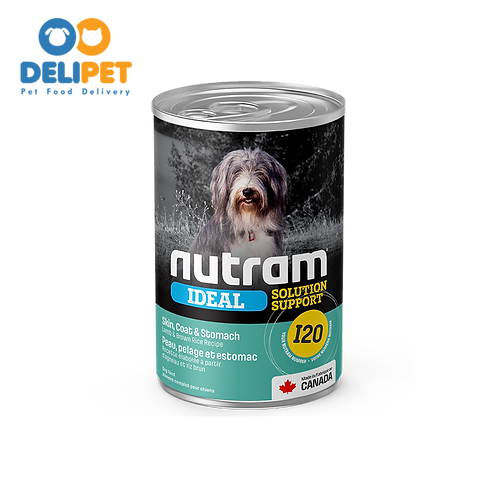 Nutram Lata I20 Ideal Sensitive Skin Coat & Stomach 369 gr