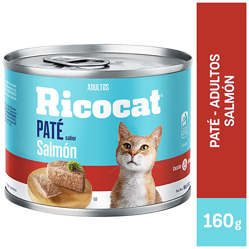 Lata Ricocat Paté Salmón 160gr
