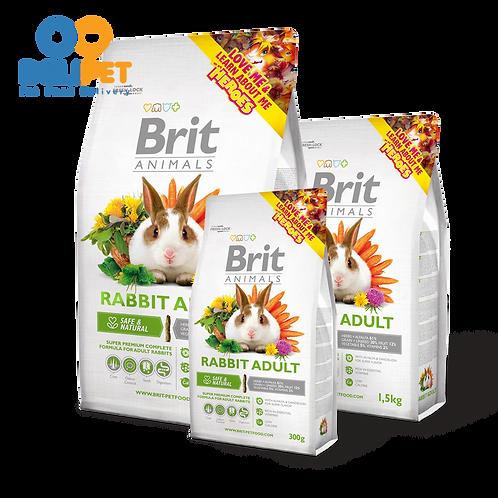 Brit Care Animals Adulto 1.5 Kg - para conejo