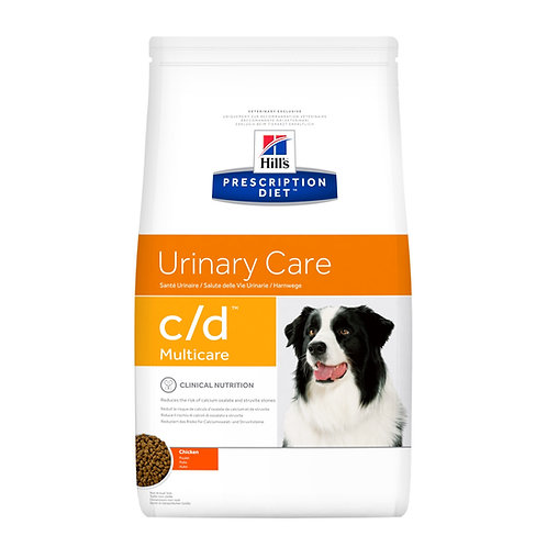 Hills PD Canine c/d multicare ( Bolsa 3.9Kg ó Lata 369Gr)