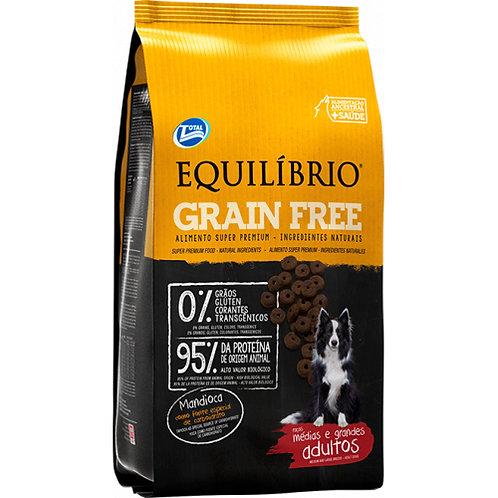 EQUILIBRIO GRAIN FREE ADULT DOG MEDIUM & LARGE BREEDS 1.5 kg - 12 kg