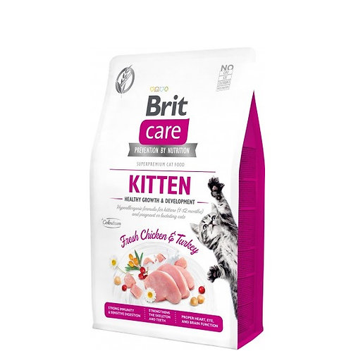 Brit Care Cat Kitten Healthy Growth & Development 2kg