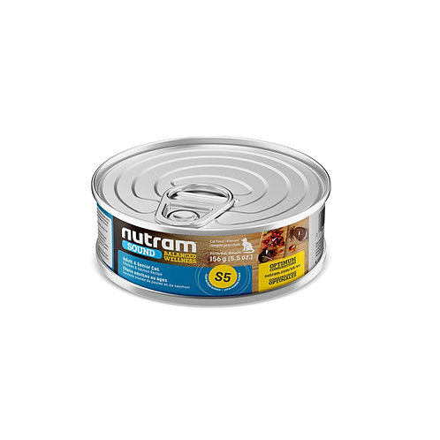 S5 LATA NUTRAM SOUND ADULT CANNED FOD 156 G