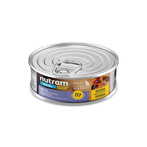 I17 LATA NUTRAM IDEAL INDOOR CAT CANNED FOOD 156 G