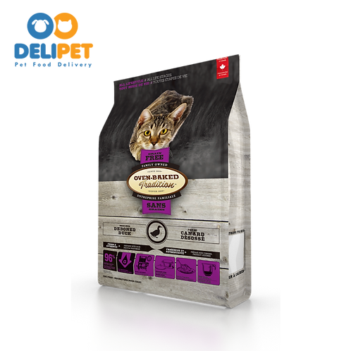 OVEN-BAKED TRADITION ALL LIFE STAGES GRAIN FREE WITH DEBONED DUCK 2.72 Kg