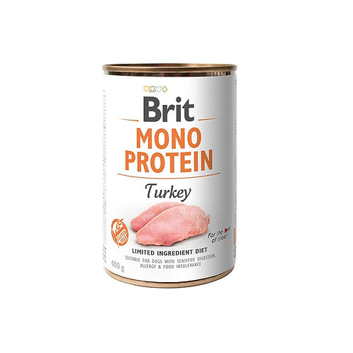 Brit Mono Protein Turkey 400gr