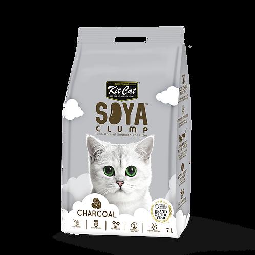 KIT CAT SoyaClump Soybean Litter Charcoal 3.18 Kg