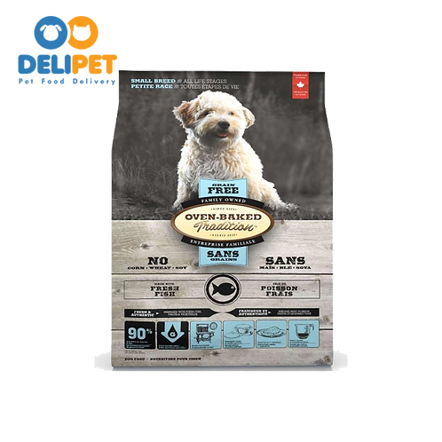 OVEN-BAKED TRADITION SMALL BREED GRAIN FREE WITH FRESH FISH 2.27 Kg