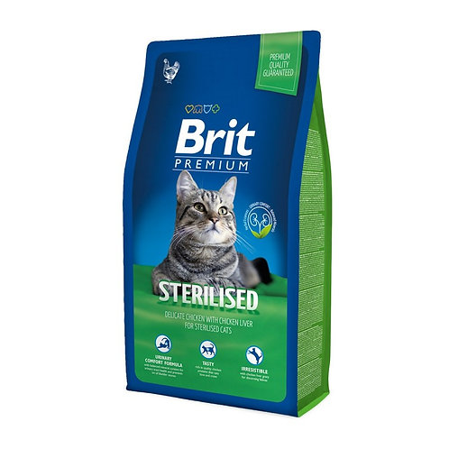 Brit Premium Cat Sterilized 8Kg