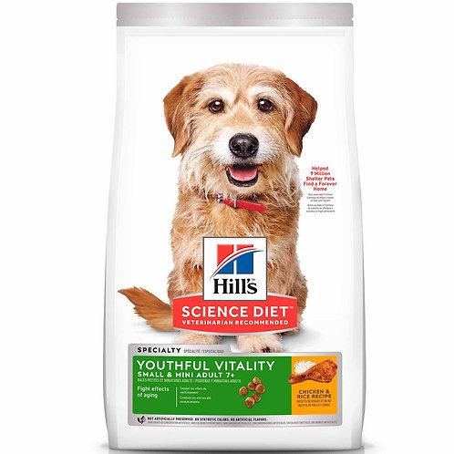 Hills SD Adult 7+ Youthful Vitality Small & Mini 3.5 lb - 1.6 kg