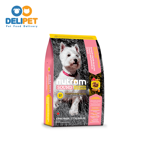 NEW S7 NUTRAM SOUND SMALL BREED ADULT DOG 2 KG