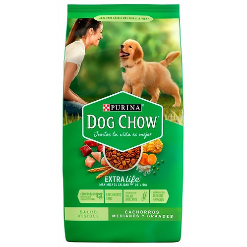 Dog Chow Cachorro Razas Medianas y Grandes (15 KG)