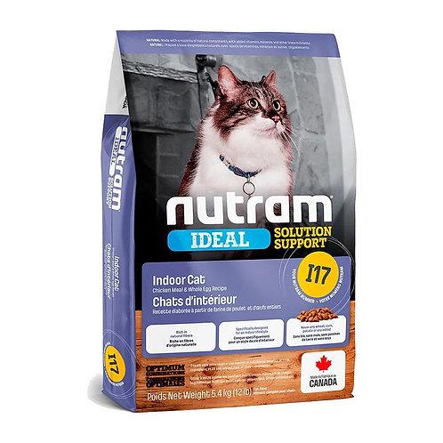 NEW I17 NUTRAM IDEAL INDOOR CAT FOOD 1.13KG - 5.4KG