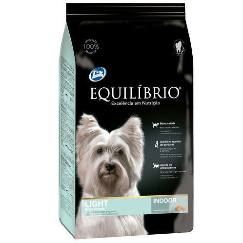 EQUILIBRIO ADULT DOGS LIGHT SMALL BREEDS 2 kg