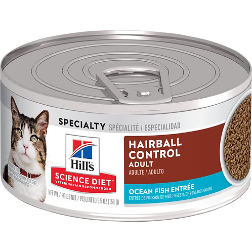 Hills SD Adult Hairball Control 5.5 Oz - 156 Gr