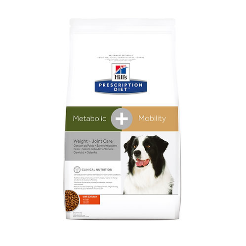 Hills PD Canine Metabolic + Mobility (3.5Kg - 10.9Kg)