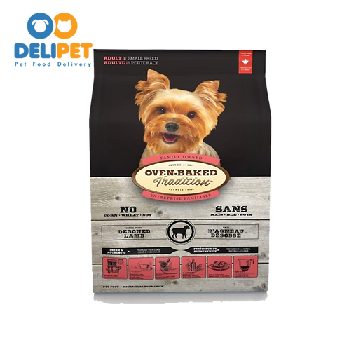 OVEN-BAKED TRADITION SMALL BREED WITH DEBONED LAMB 2.27 Kg