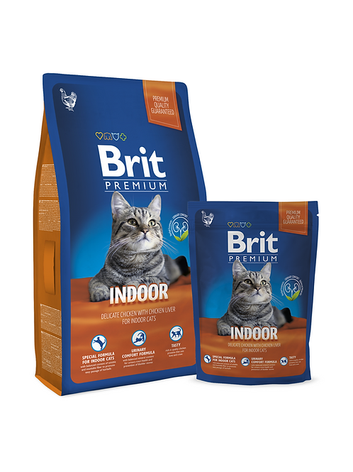 Brit Premium Cat Indoor (800gr - 8Kg)