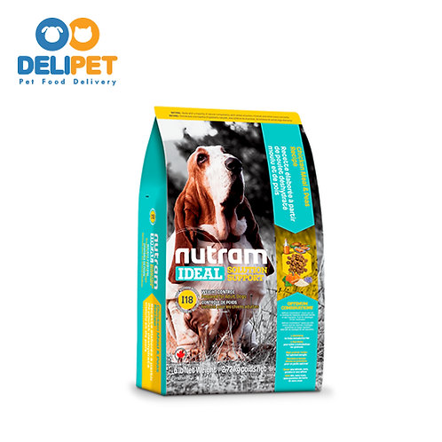 NEW I18 NUTRAM IDEAL WEIGHT CONTROL DOG (2KG - 11.4KG)