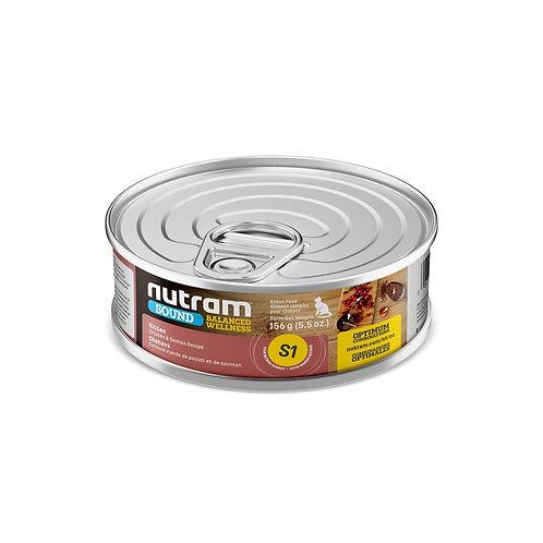 S1 LATA NUTRAM SOUND KITTEN CANNED FOD 156 G