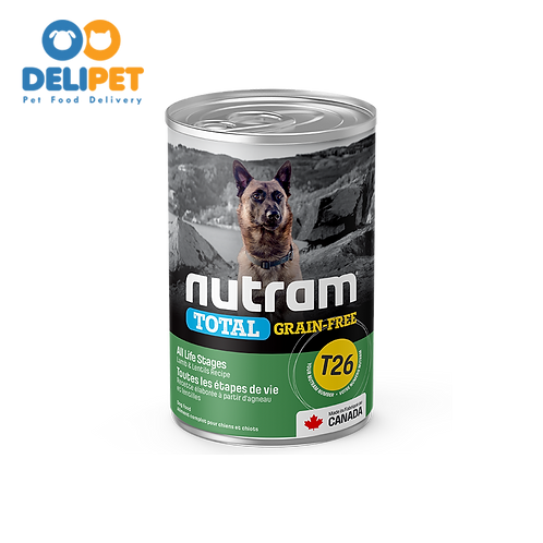 Nutram Lata T26 Total Grain-Free Allergy Lamb 369 gr