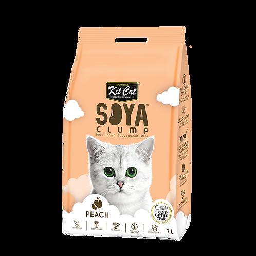 KIT CAT SoyaClump Soybean Litter Peach 3.18 Kg