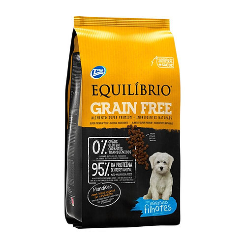 EQUILIBRIO GRAIN FREE PUPPIES SMALL BREEDS 1.5 kg