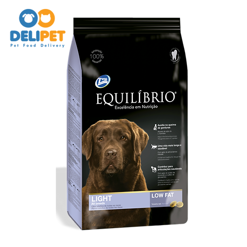 EQUILIBRIO ADULT DOGS  LIGHT ALL BREEDS 15 Kg
