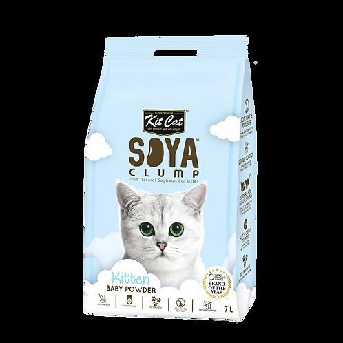 KIT CAT SoyaClump Soybean Litter Baby Powder 3.18 Kg