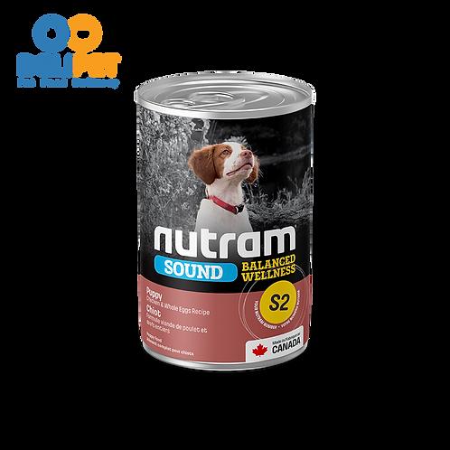 Nutram Lata S2 Sound Puppy 369 gr