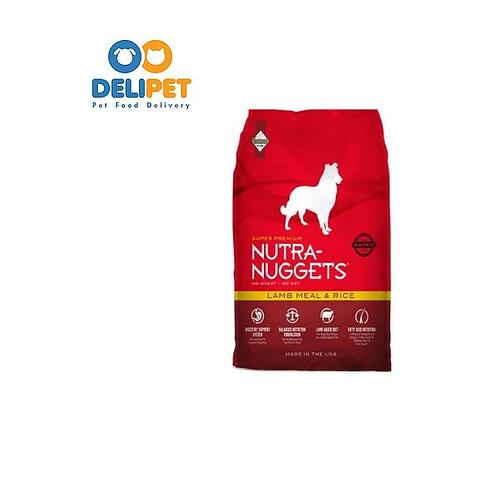 Nutra-Nuggets Cordero y Arroz  15 Kg