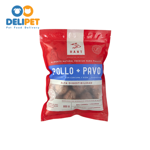 Hant Pollo + Pavo 800 gr