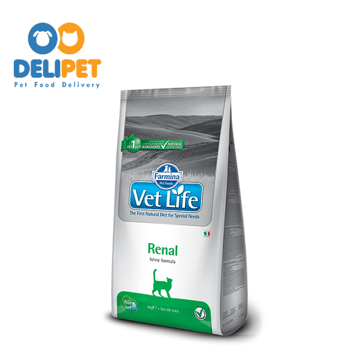 Vet Life Feline Renal FELINO - 2KG
