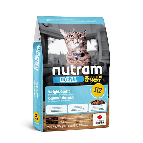 NEW I12 NUTRAM IDEAL WEIGHT CONTROL CAT 1.13KG - 5.4KG