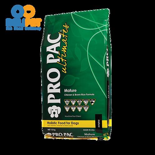 Pro Pac Mature Pollo y Arroz integral - 12 Kg