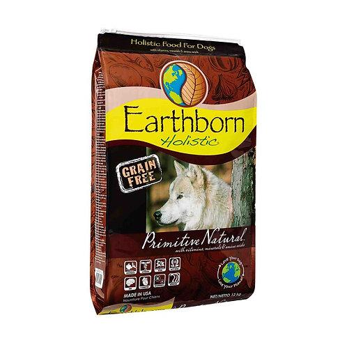EARTHBORN HOLISTIC Primitive Natural - Sin Granos 12 kg