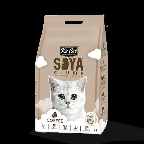 KIT CAT SoyaClump Soybean Litter Coffee 3.18 Kg