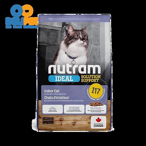 NEW I17 NUTRAM IDEAL INDOOR CAT FOOD (1.13KG - 5.4KG)