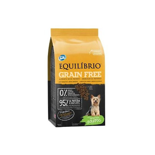EQUILIBRIO GRAIN FREE ADULT DOG SMALL BREEDS 1.5 kg - 7.5 kg