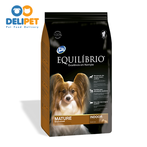 EQUILIBRIO MATURE TIVE DOGS SMALL BREEDS 2 Kg