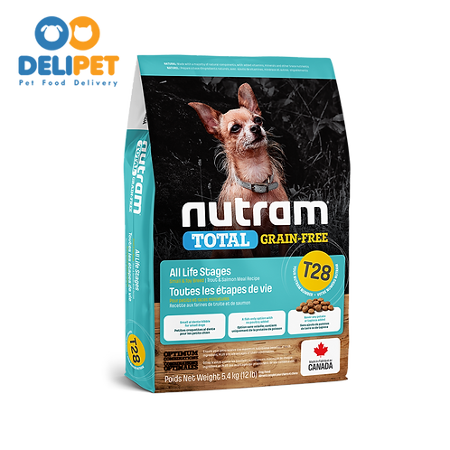 NEW T28 NUTRAM TOTAL GRAIN-FREE SALMON & TROUT SMALL 2 KG