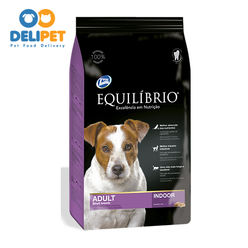 EQUILIBRIO ADULT DOGS  SMALL BREEDS 2 y 7.5 Kg