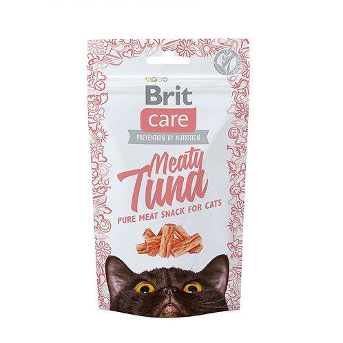 Brit care cat snack meaty tuna 50gr