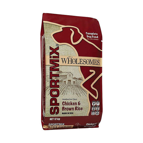 SPORTMIX WHOLESOMES Chicken & Brown Rice 12kg