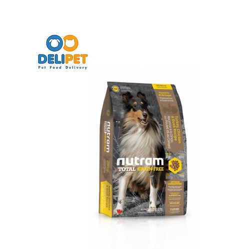 NEW T23 NUTRAM TOTAL GRAIN-FREE TURKEY CHICKEN & DUCK DOG 2KG