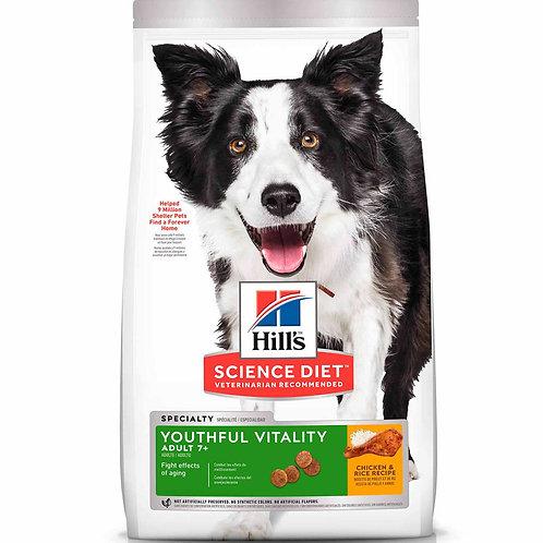 Hills SD Adult 7+ Youthful Vitality 3.5 lb - 12.5 lb (1.6 kg - 5.7 kg)