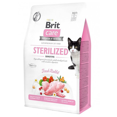 Brit Care Cat Grain - Free Sterilized Sensitive 2kg