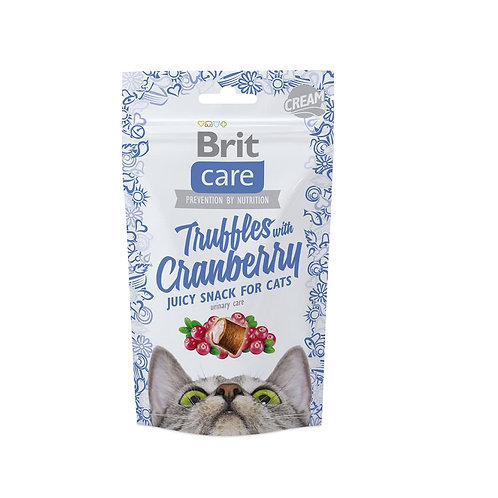 Brit care cat snack truffles cranberry 50gr